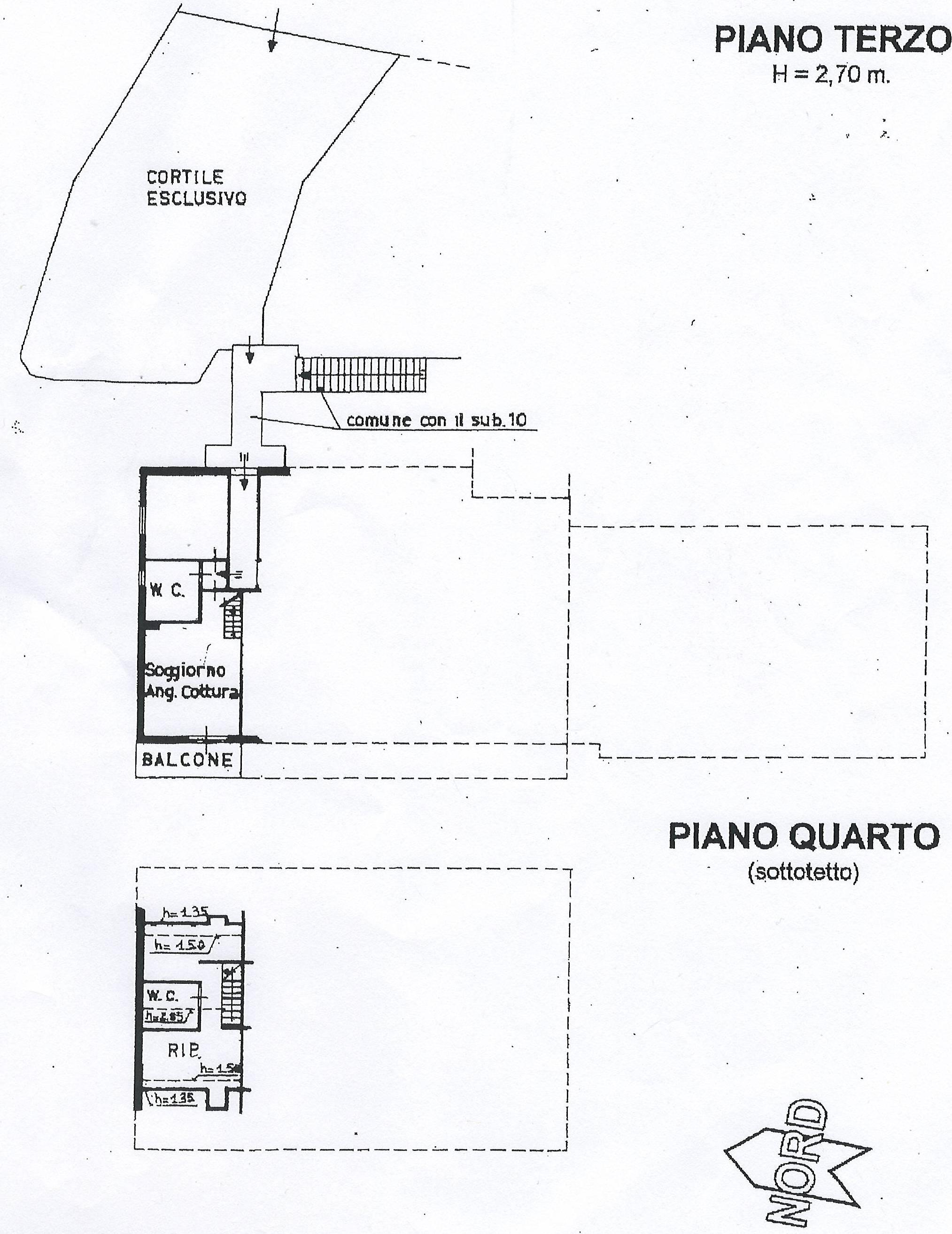 Appartamento ed accessori
